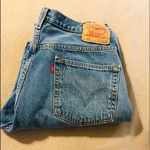 2 NWOT! Levi's 501 36x32 men's jeans. Light blue!